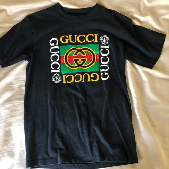 3d0ea55ef01 Gucci Other - Vintage bootleg Gucci shirt